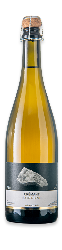 Weinflasche Crémant extra brut
